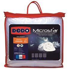 DODO Couette chaude microfibre anti acariens DODO MICROSTAR 400 g/m²