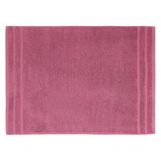 ACTUEL Tapis de bain uni en coton éponge tissé 1000 gr/m2  (Violet)