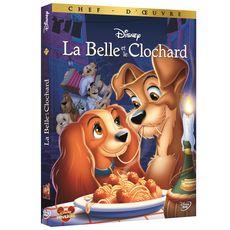 La Belle et le Clochard DVD