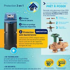 CPED Adoucisseur d'eau Intégral - 22 Litres