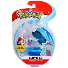 BANDAI Pokeball et sa figurine 5 cm pokemon