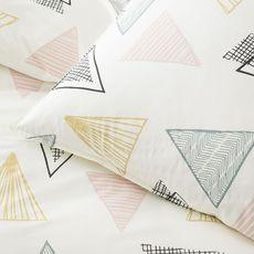 TODAY Parure housse de couette imprimé coton 57 fils ADELE (Imprimé)