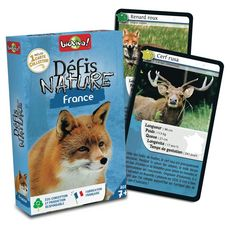 BIOVIVA Défis Nature France 36 cartes collector 1 jeu