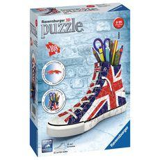 RAVENSBURGER Puzzle 3D Sneaker Union Jack 108 pièces