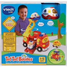 VTECH Mon super camion de pompiers - Tut Tut Bolides