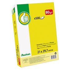 Ramette de papier blanc A4 500 feuilles 80gr