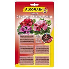 ALGOFLASH Engrais bâtonnets géraniums et plantes fleuries x25 25 pièces