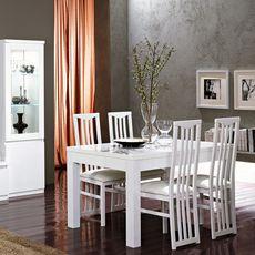 Table de séjour L160cm GENOVA (blanc)