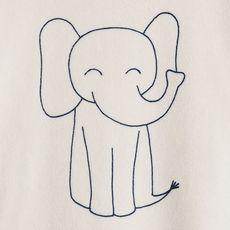 IN EXTENSO Dors bien velours éléphant bébé garçon (Beige)